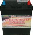 Batterie 45 Ah  Vetture Asiatiche (poli piccoli)