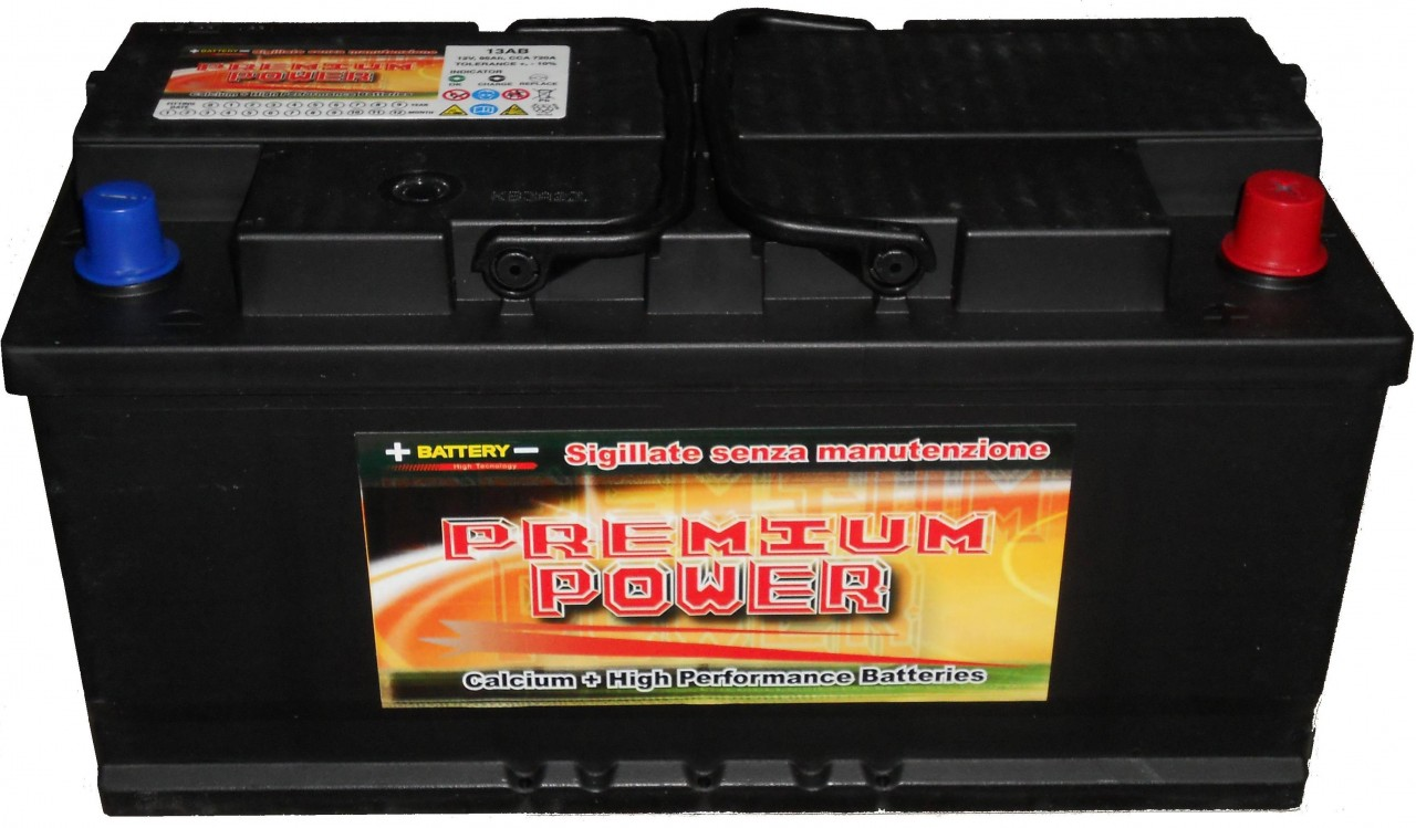 batteria auto 95 ah vetture 2 0 2 5 bz ds car battery. Black Bedroom Furniture Sets. Home Design Ideas